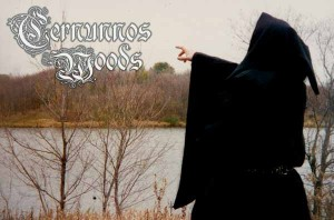 Cernunnos Woods Promo Pic dark ambient dungeon synth band