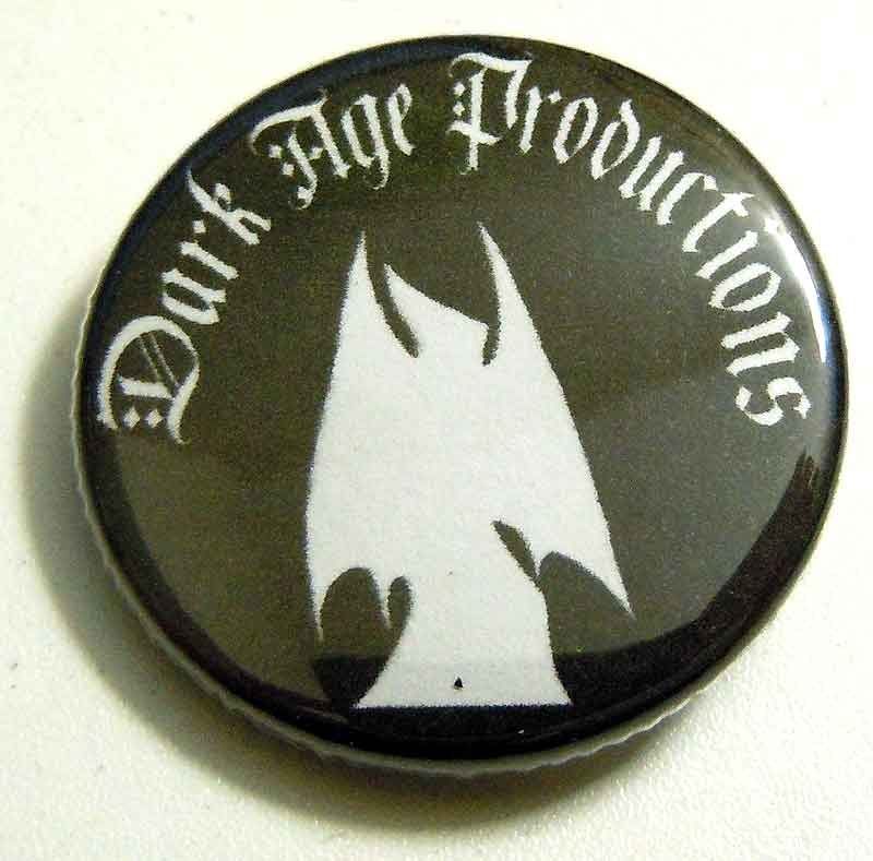 Dark Age Productions Logo Pin dark ambient dungeon synth label