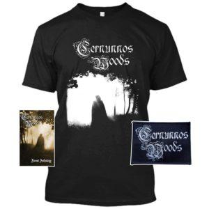 Cernunnos Woods - Forest Anthology Cassette T-shirt Bundle dungeon synth dark ambient black metal