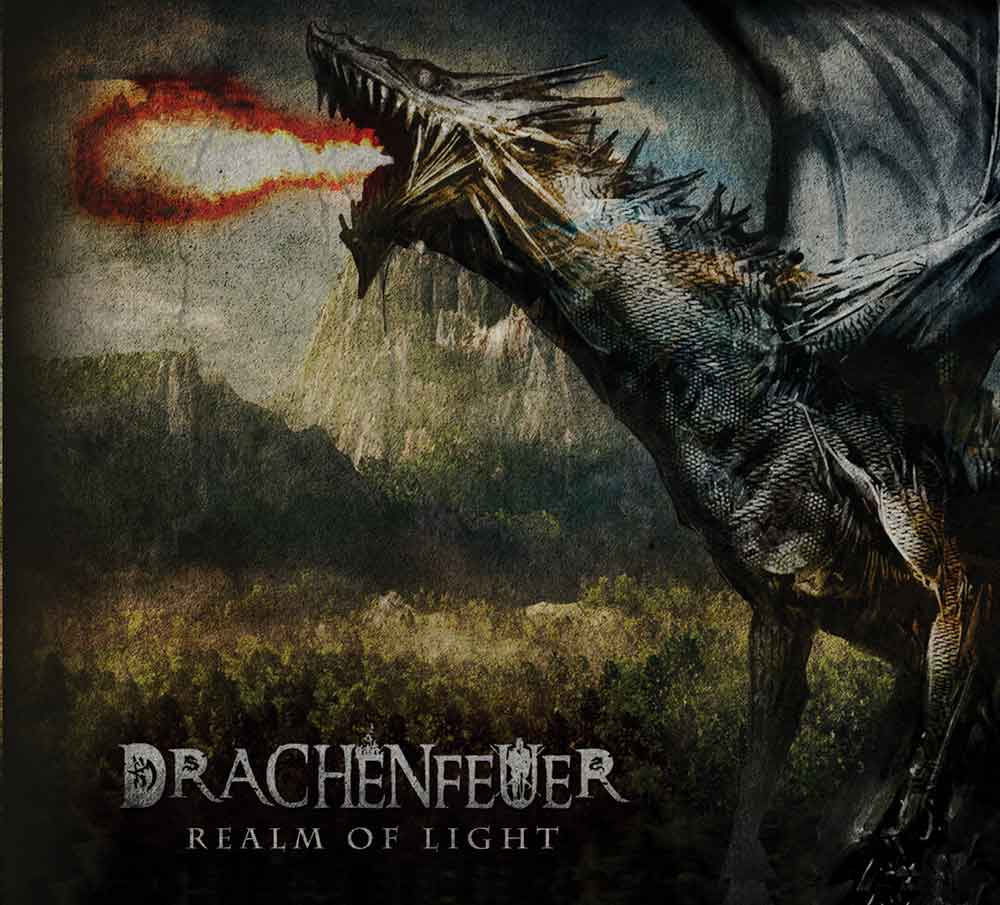 Drachenfeuer - Realm of Light 2 CD Digipak epic tolkien ambient dungeon synth