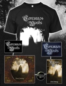 Cernunnos Woods - Forest Anthology CD Cassette Tshirt patch dungeon synth dark ambient medieval USBM