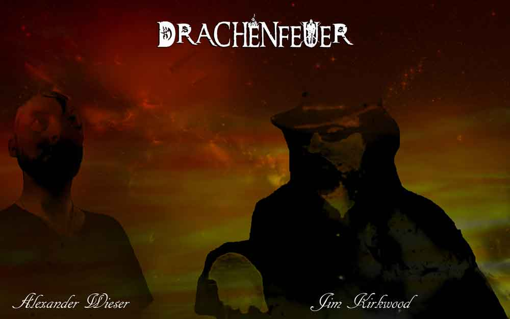 Drachenfeuer lineup photo epic tolkien ambient cinematic dungeon synth