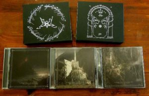In Mordor Where The Shadows Are ; Homage to Summoning 3 CD Box atmospheric black metal dungeon synth tolkien black metal