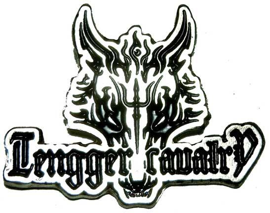 Tengger Cavalry die cast logo pin mongolian folk metal