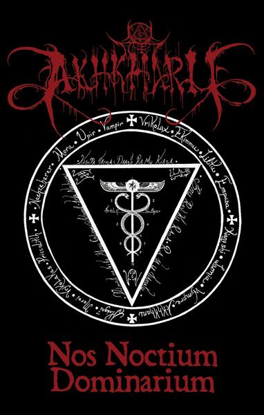 Akhkharu - Nos Noctium Dominarium Cassette ritual dark ambient dungeon synth