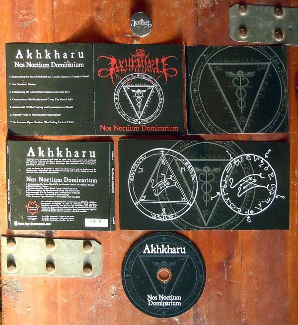 Akhkharu - No Noctium Dominarium CD dark ambient ritual black ambient dungeon synth dark age productions