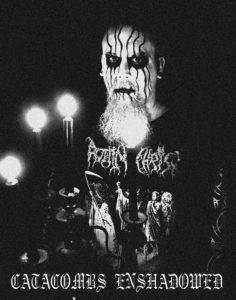 Catacombs Enshadowed US dungeon synth dark ambient black metal vampiric atmosphere