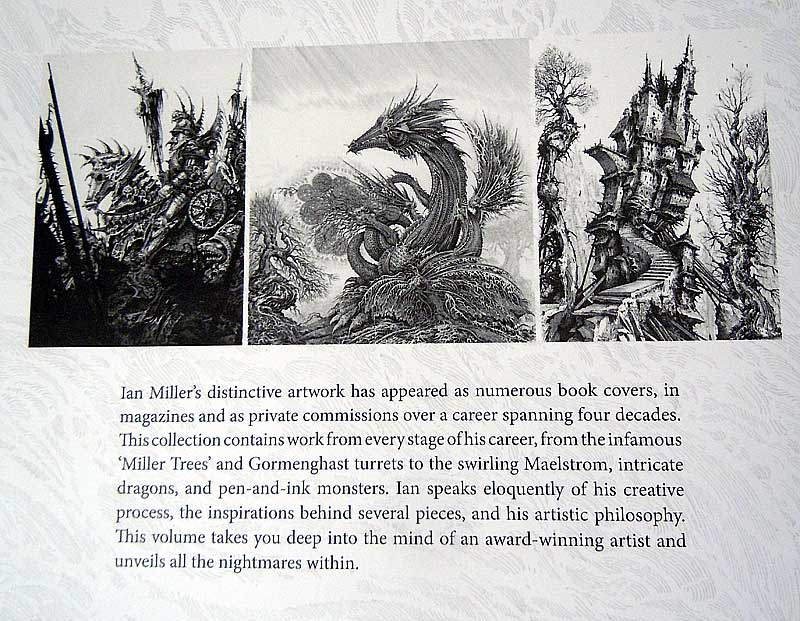 Art of Ian Miller Book warhammer 40K album art tolkien art dark age productions