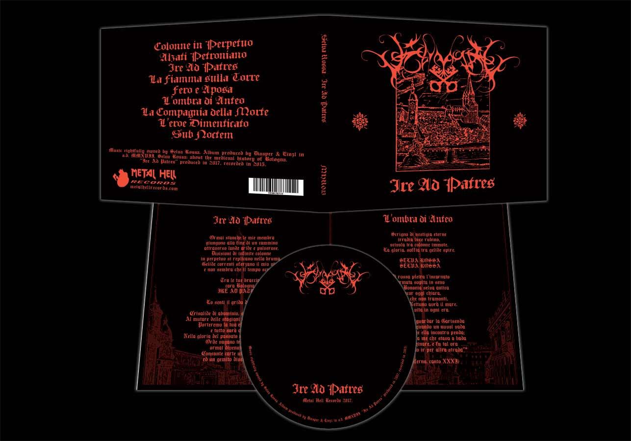 Selva Rossa - Ire Ad Patres CD black metal