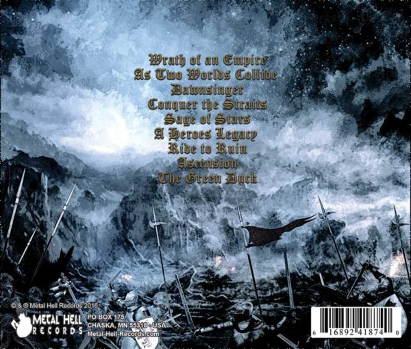 Stormtide Wrath of an EMpire CD folk metal