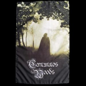 Cernunnos Woods tapestry flag medieval dark ambient dungeon synth black metal