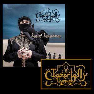 Tamerlan Empire CD Patch bundle middle eastern black metal symphonic black metal