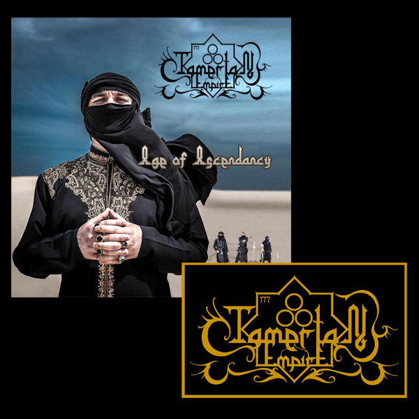 Tamerlan Empire CD Patch bundle middle eastern black metal symphonic black metal