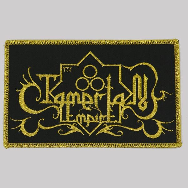 Tamerlan Empire Logo Patch middle eastern black metal symphonic folk metal