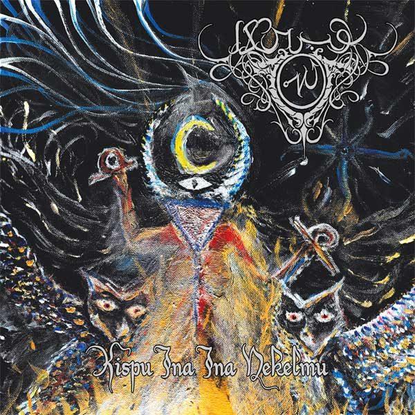 Akrabu - Kispu Ina Ina Nekelmu CD ritual dark ambient dungeon synth