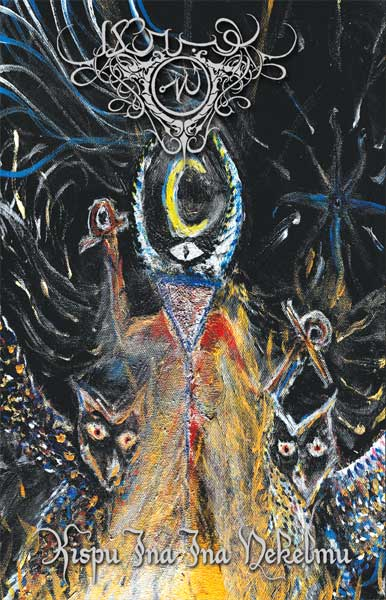 Akrabu - Kispu Ina Ina Nekelmu Cassette ritual dark ambient dungeon synth