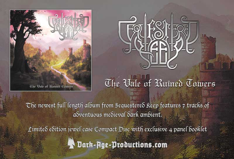 Sequestered Keep vale of rtuined towers cd flier