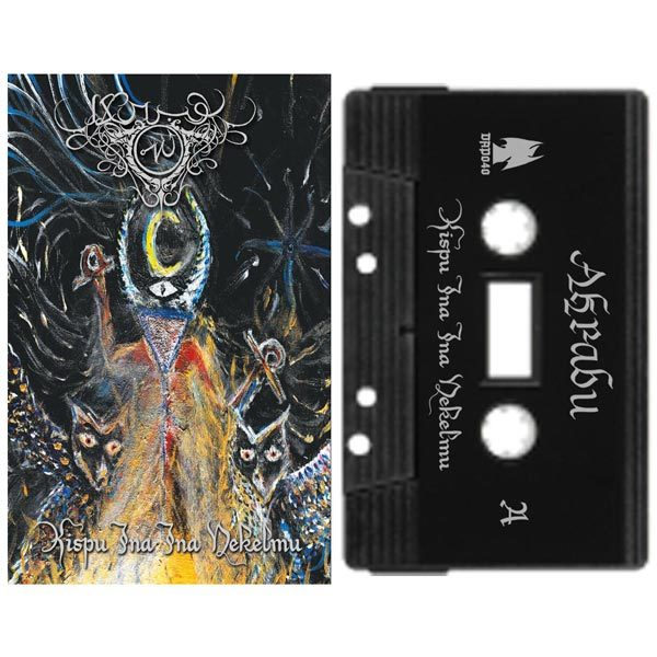 Akrabu Kispu Ina Ina Nekelmu cassette dark ambient dungeon synth
