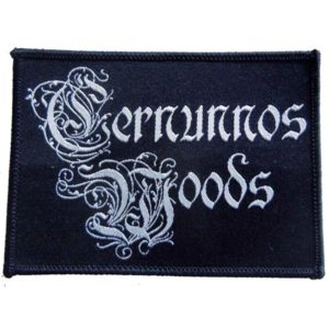 Cernunnos Woods logo patch dungeon synth dark ambient black metal
