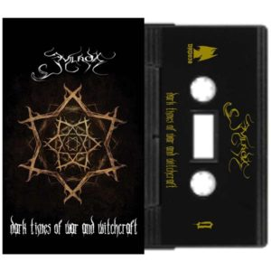 Evilnox dark times of war and witchcraft cassette dungeon synth black metal
