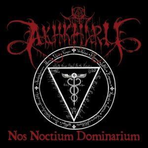 Akhkharu Nos noctium dominarium CD ritual dark ambient vampire black metal