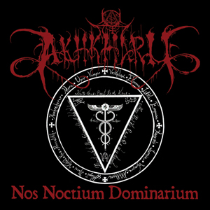 akhkharu Nos noctium dominarium CD dark ambient dungeon synth black metal