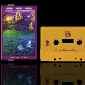 Ur Pale - Crystal Waves Orchestra Cassette Tape Reissue dungeon synth dark age productions