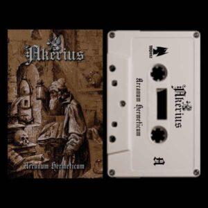 Akerius - Arcanum Hermeticum Cassette Tape dungeon synth reunion island