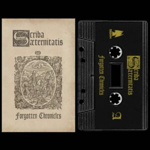 Scriba Aeternitatis - Forgotten Chronicles Cassette Tape