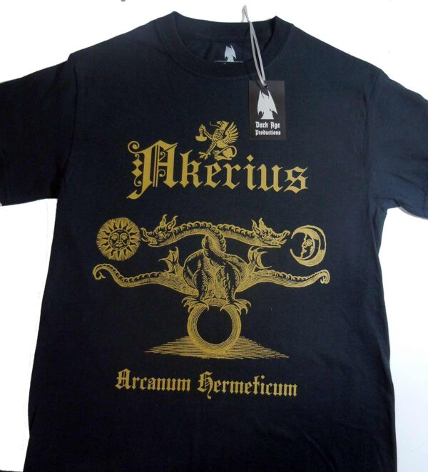 Akerius - Arcanum Hermeticum T-shirt dungeon synth dark age productions