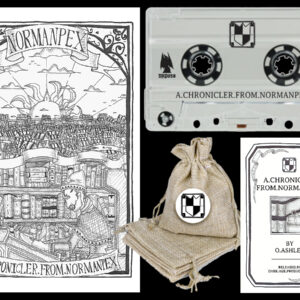 Normanpex - A Chronicler From Normanpex Cassette package dungeon synth dark age productions
