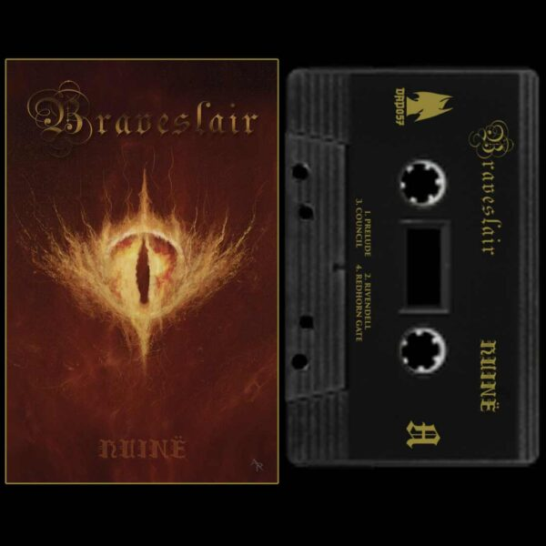 Braveslair - Huine Cassette Tape dunegon synth dark age productions