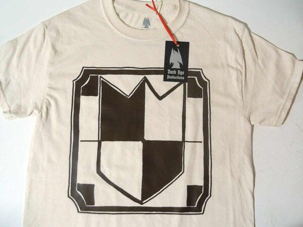 Normanpex Heraldic Shield logo T-shirt dungeon synth dark age productions