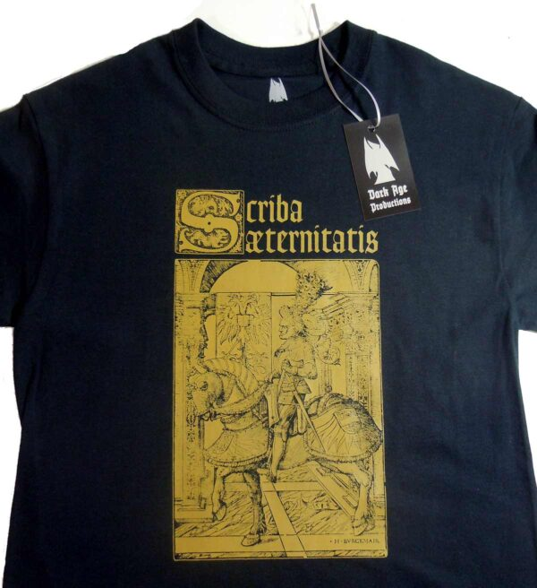 Scriba Aeternitatis - Knight T-shirt dungeon synth dark age productions