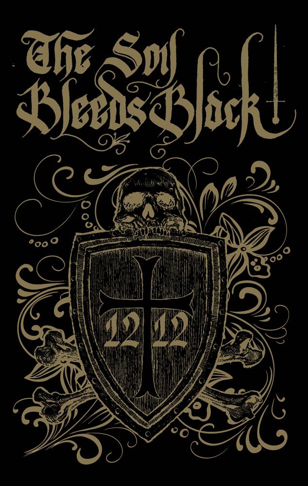 The Soil Bleeds Black - 1212 Cassette Tape Medieval Folk Dungeon Synth