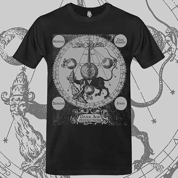 Apocalypse Beast T-shirt Dark Age Productions Kabbalah Cabala