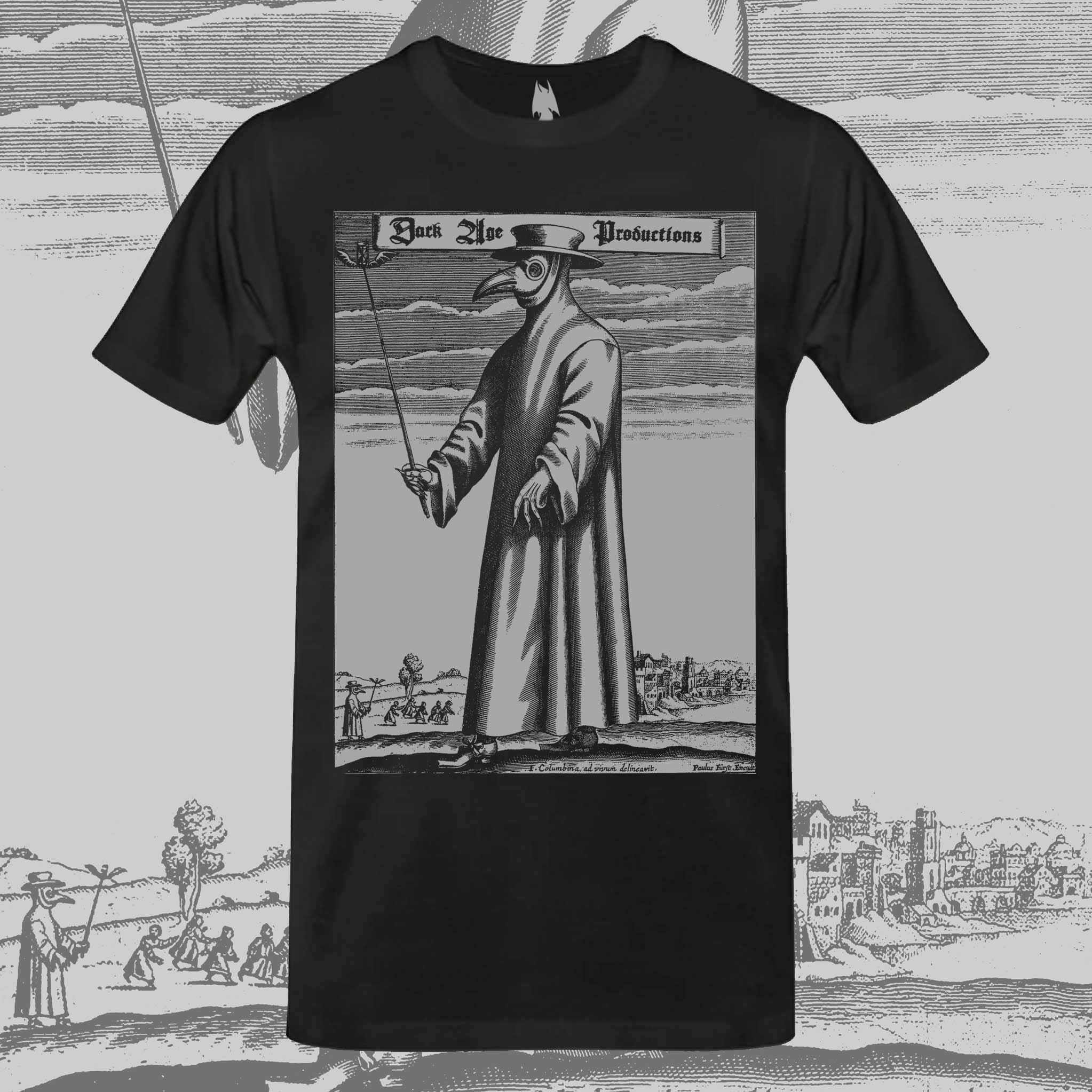 Plague Doctor T-shirt dungeon synth dark age productions
