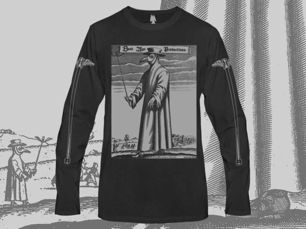 Plague Doctor Long Sleeve Shirt dark age productions dungeon synth