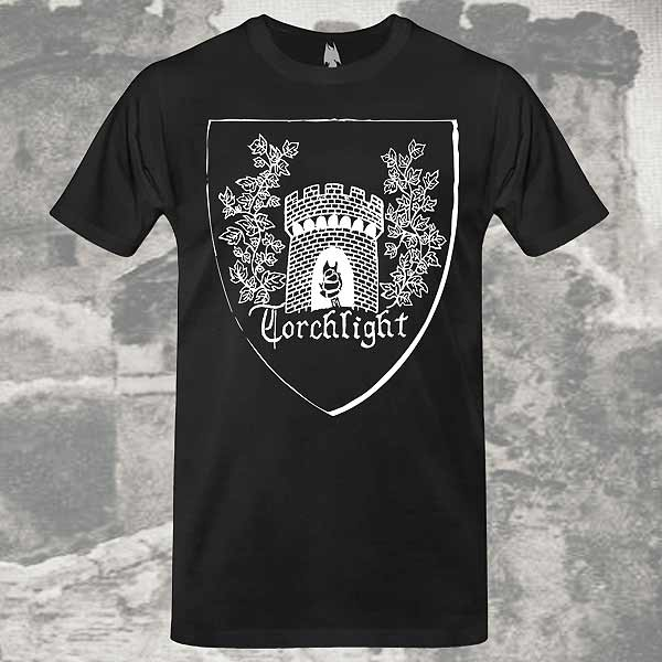 Torchlight T-shirt dungeon synth dark age productions