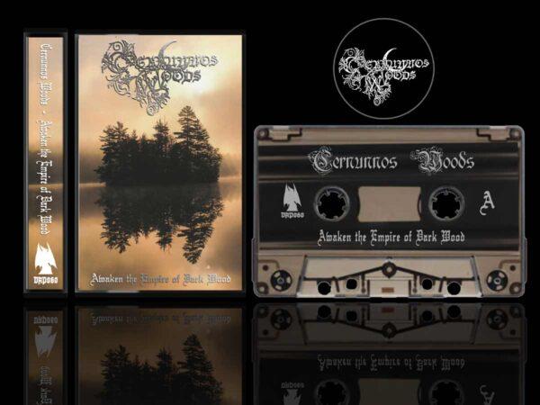 Cernunnos Woods - Awaken the Empire of Dark Wood Cassette Tape dungeon synth Dark Age Productions Bard Algol
