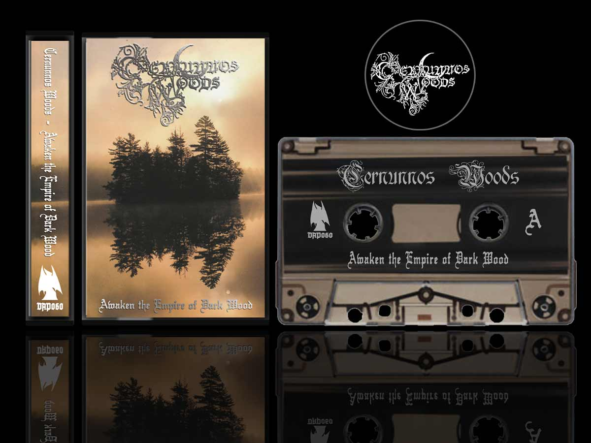 Cernunnos Woods - Awaken the Empire of Dark Wood Cassette Tape dungeon synth Dark Age Productions Bard Algol