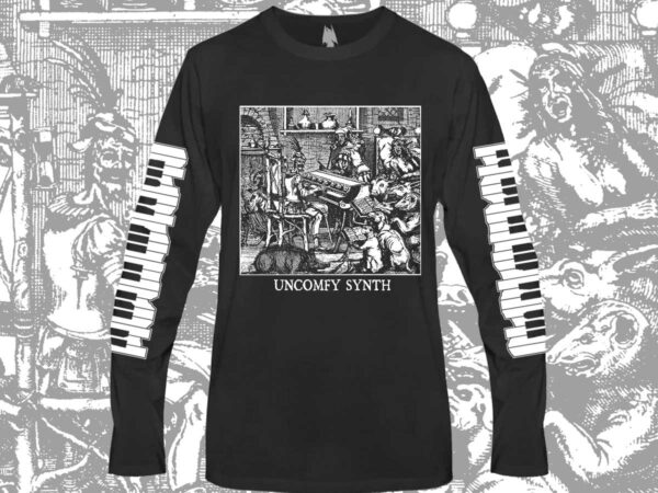 Uncomfy Synth Long Sleeve Shirt dark age productions dungeon synth