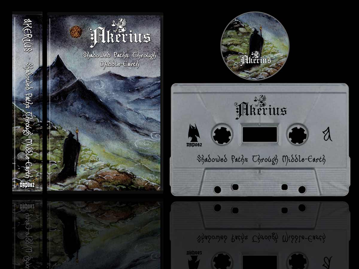 Akerius - Shadowed Paths Through Middle-Earth Cassette