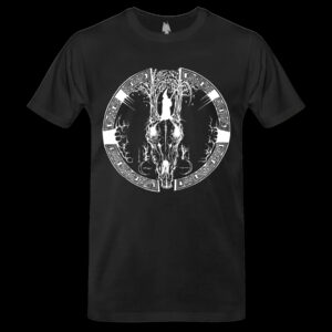 Cernunnos Woods - Skull Tshirt dungeon synth dark age productions