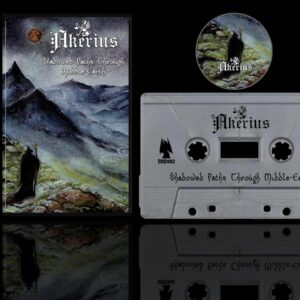 Akerius - Shadowed Paths Through Middle-Earth Cassette dungeon synth dark age productions