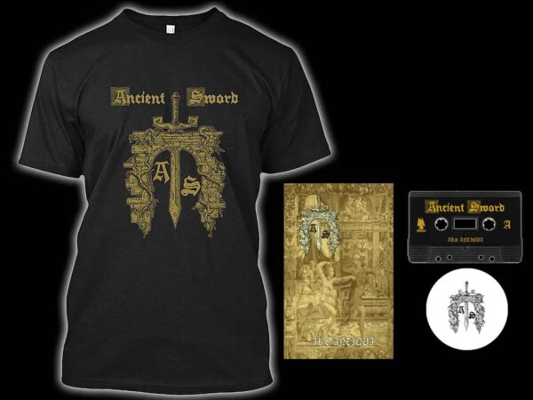 Ancient Sword - Ars Antiqua Cassette Tshirt Bundle dungeon synth dark age productions