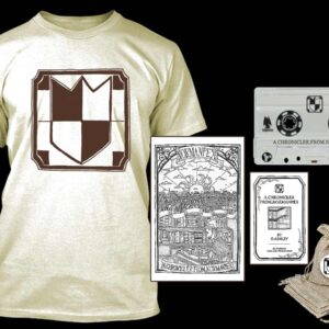 Normanpex - A Chronicler from Normanpex Cassette Tshirt Bundle dungeon synth dark age productions