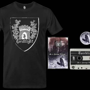 Torchlight - In a Foreign Village Cassette Tshirt Bundle dungeon synth dark age productions