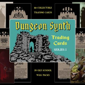 Dungeon Synth Trading Cards Series 1 dark age productions
