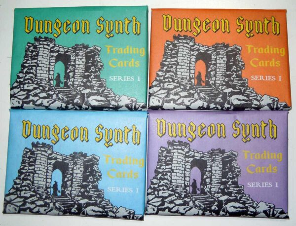 Dungeon Synth Cards Series 1 variant wrappers